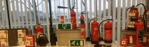 brandblussers